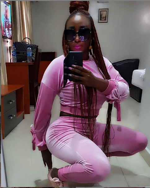 Ini Edo flaunts her curves in sexy new photos.