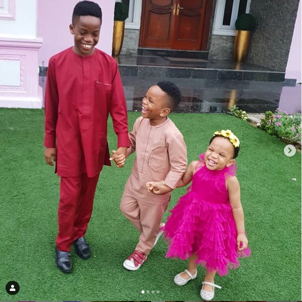 Adaeze Yobo shares adorable photos of her three children?