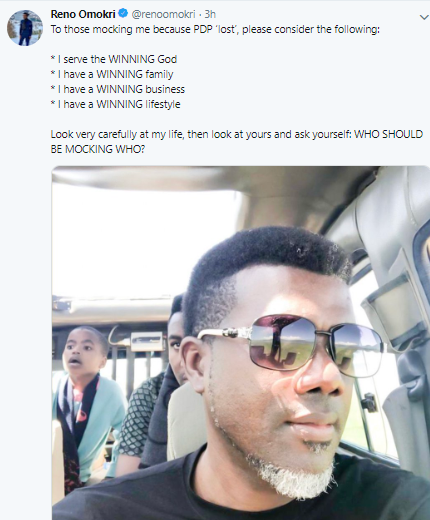 Here is Reno Omokri