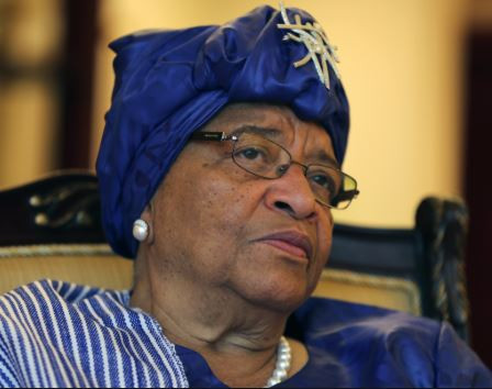 The former Liberian President, Ellen? Sirleaf's son was arrested after investigations in the country