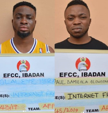 EFCC arraigns three internet Fraudsters in Ibadan