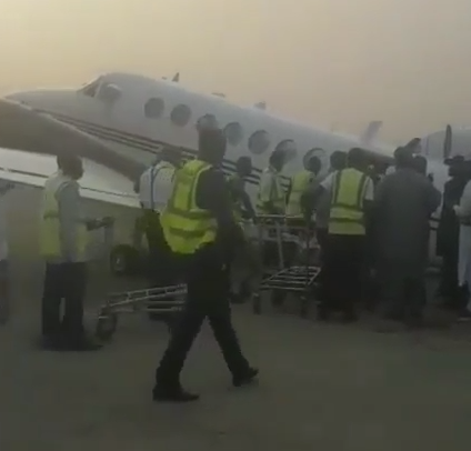Elections: EFCC reportedly stopped from probing plane loaded with cash on election eve
