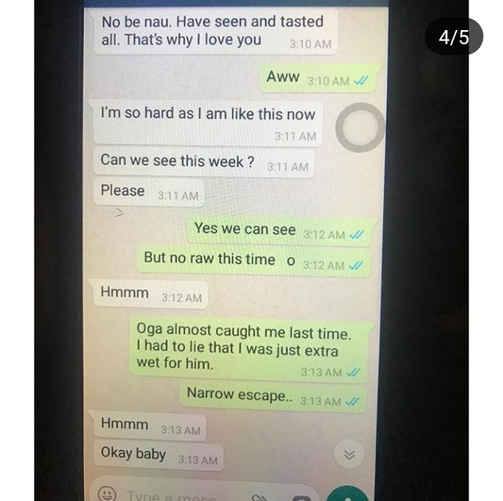 Husband exposes nude photos and chats his pregnant wife sent to her lover (+18 photos)