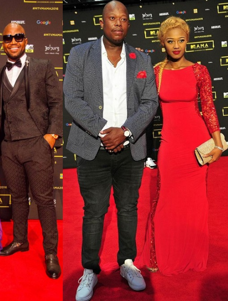 Cassper Nyovest reacts to Babes Wodumo