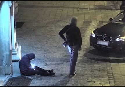 Taxi driver caught on CCTV stealing the phone of a