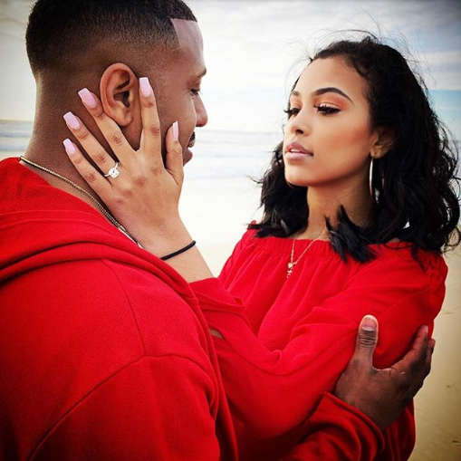 Marques Houston gets engaged to his girlfriend of 5 months (photos)