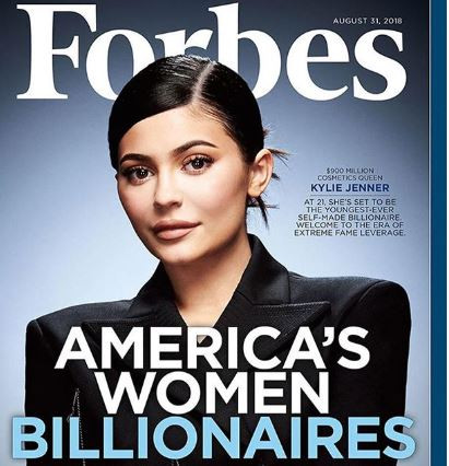 Kylie Jenner beats Mark Zuckerberg to become the youngest self-made billionaire of all time!