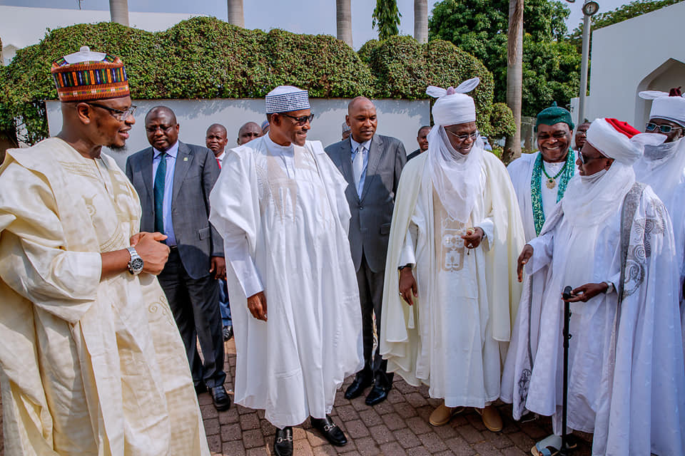 President Buhari tells traditional rulers to support fight against criminality