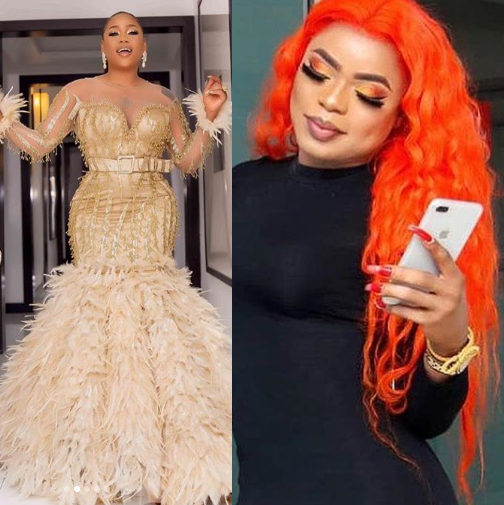 Bobrisky bodly calls out Toyin Lawani and drags her kids into it