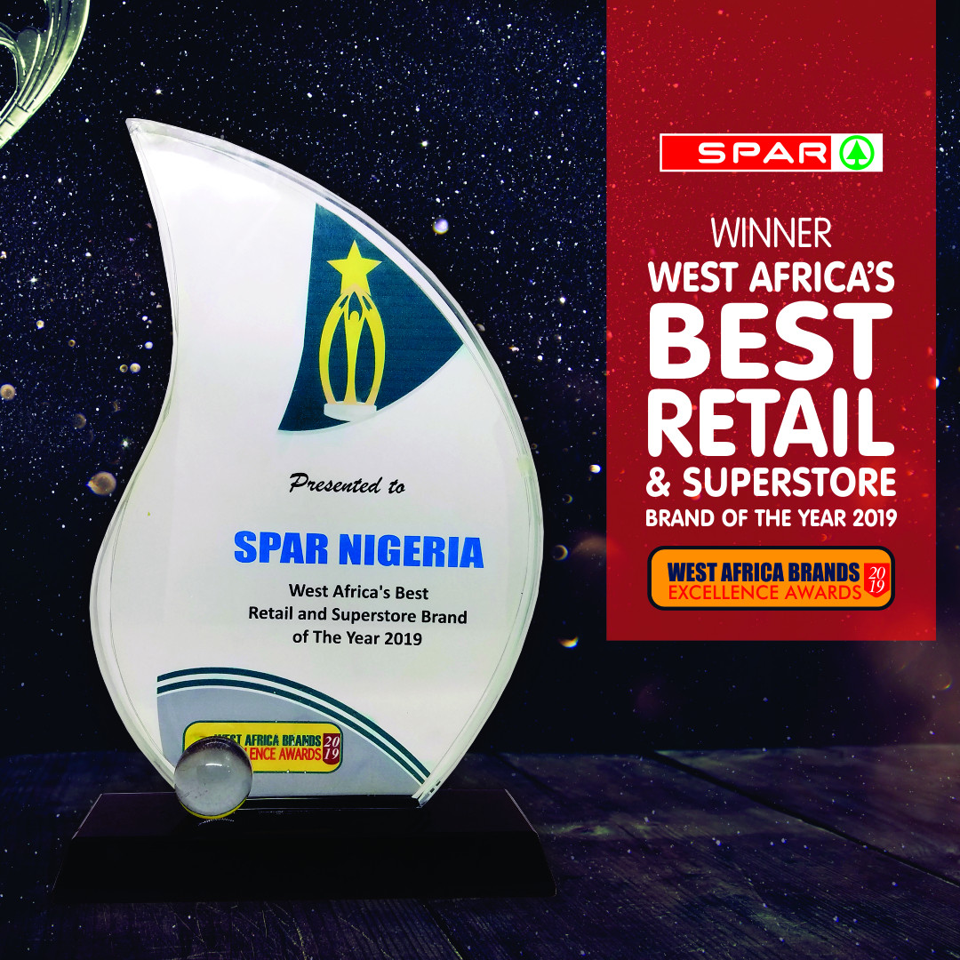SPAR wins 2019 Best Retail and Superstore brand