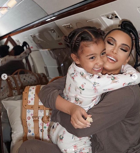 Kim bonds with daughter North West on trip to Montreal (photo)