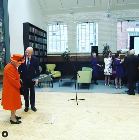Watch the moment Her Majesty The Queen made her first ever Instagram post (video)