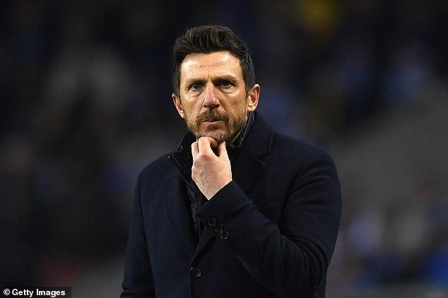 Roma sack coach Eusebio Di Francesco after Champions League elimination at the hands of Porto