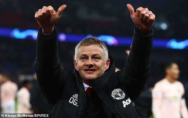 Finally! Manchester United set to install Ole Gunnar Solskjaer as manager on a permanent basis after Champions League win over PSG