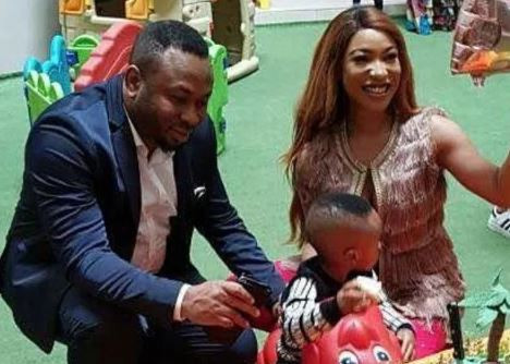 The Drama Continues:?Olakunle Churchill? releases disclaimer that Tonto Dikeh has full custody of their son
