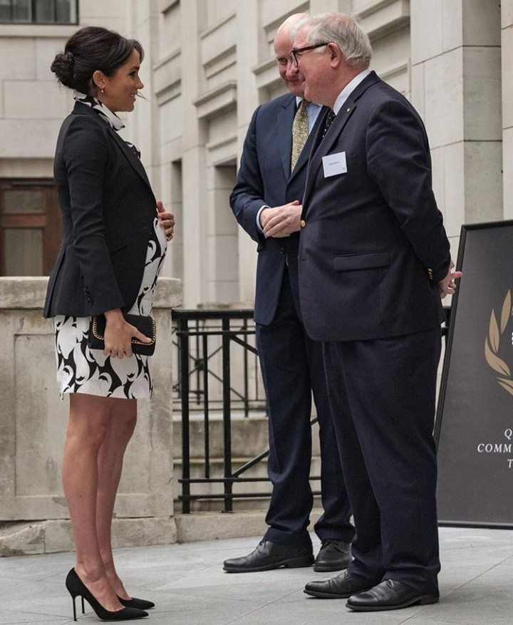 Meghan Markle marks International Women?s Day by joining a panel discussion convened by the Queen?s Commonwealth Trust