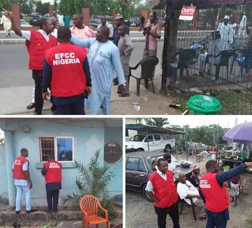 Bureau De Change operators take to their heels as EFCC tracks vote buying in Port Harcourt ahead of governorship election