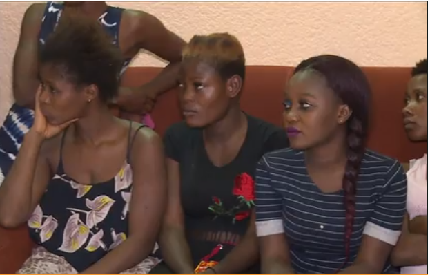 Video shows Nigerian girls who were trafficked to Mali for sex trade as it
