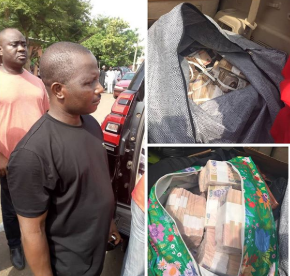 Update: EFCC says bundles of cash found in Benue state is allegedly owned by APC governorship candidate