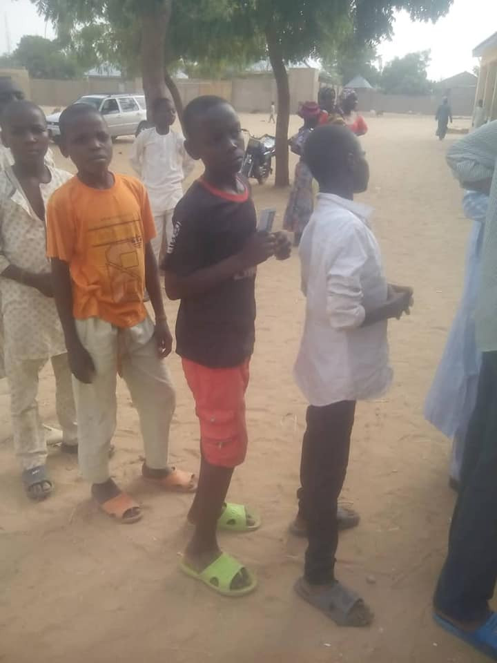 Photos: Underaged voters reportedly spotted in Nasarawa state