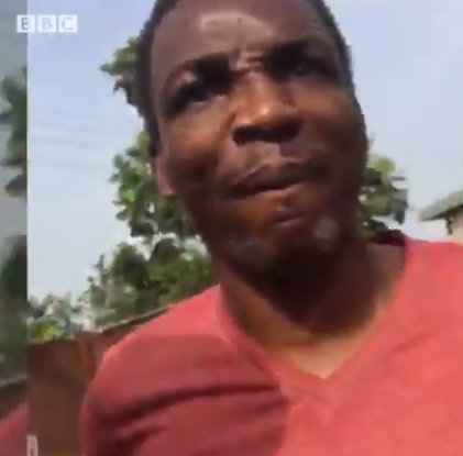 Video: Watch the moment a politician in Lagos slapped a BBC reporter for recording him while allegedly buying votes