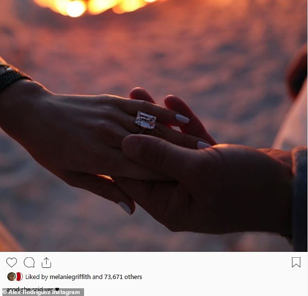 Yay! Jennifer Lopez and her boyfriend Alex Rodriguez are engaged after two years of dating (see her massive ring)