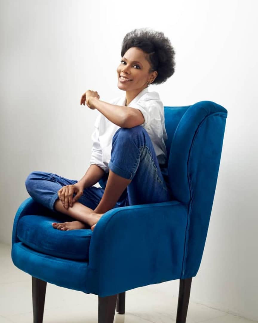 Lovely new photos of media personality, Funmi Iyanda