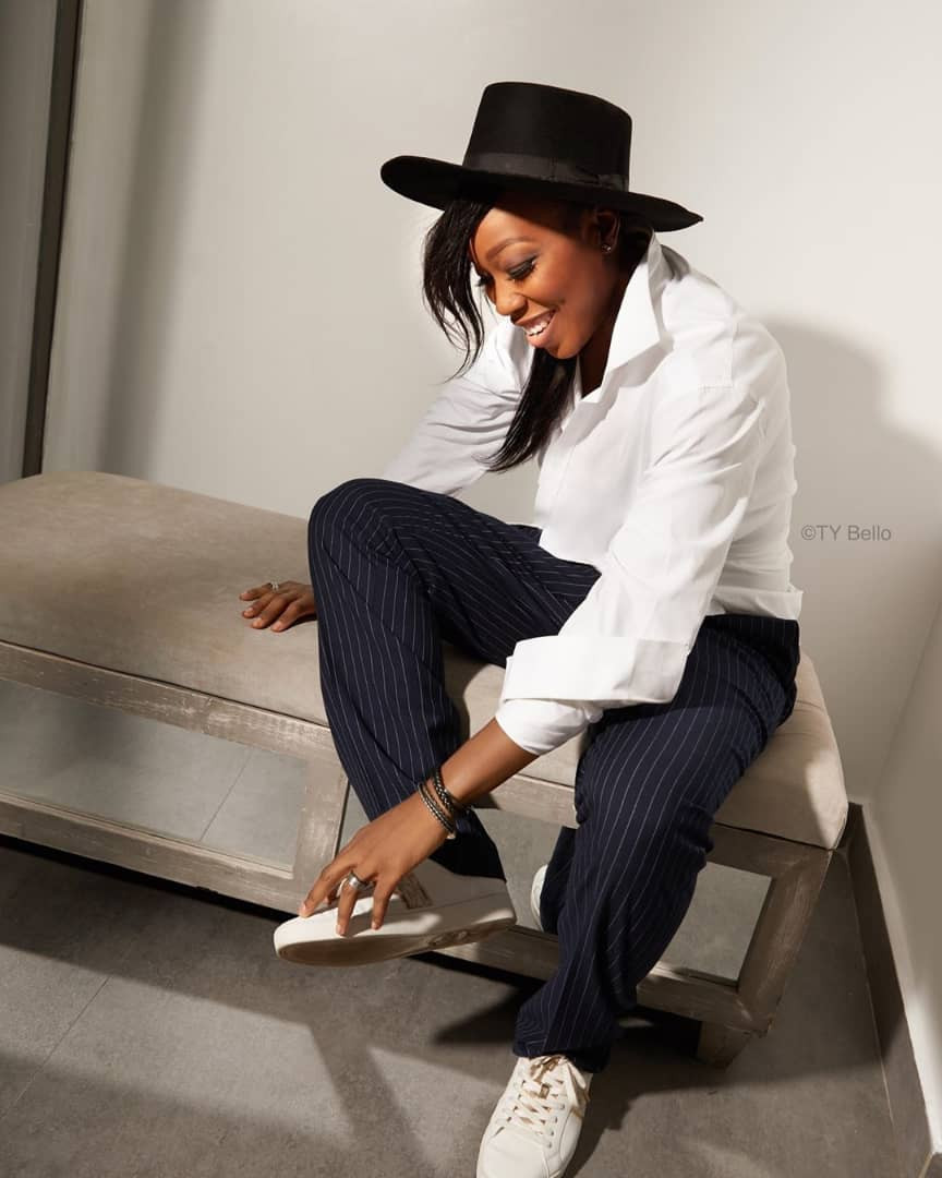 TY Bello shares stunning photo of her friend and former band member,  Emem Ema, who turns 40 today