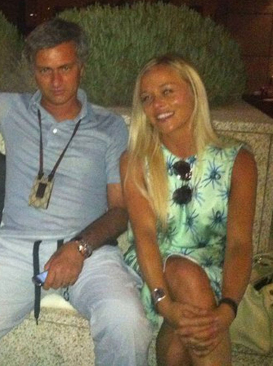 Married Jose Mourinho spotted on sunshine break with his special female friend Prue Carter-Robinson (Photos)