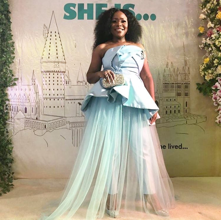 Photos: Toke Makinwa, Waje, Omawumi, Latasha Ngwube, Layole Oyatogun, others step out in style for movie premiere