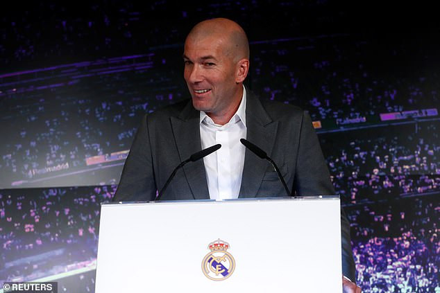 Zinedine Zidane reveals why he left Real Madrid as he