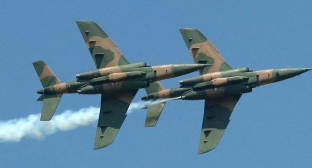 Nigerian Air Force battles IS fighters in Borno