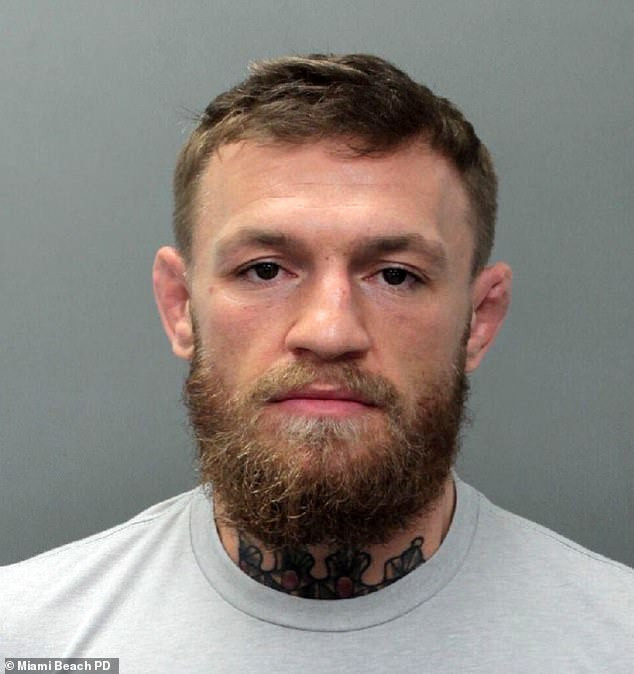 UFC star Conor McGregor arrested in Miami for