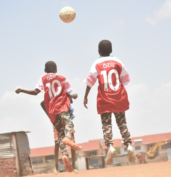 Mesut Ozil sends signed Arsenal jersey to Kenyan boy who was pictured with the footballer