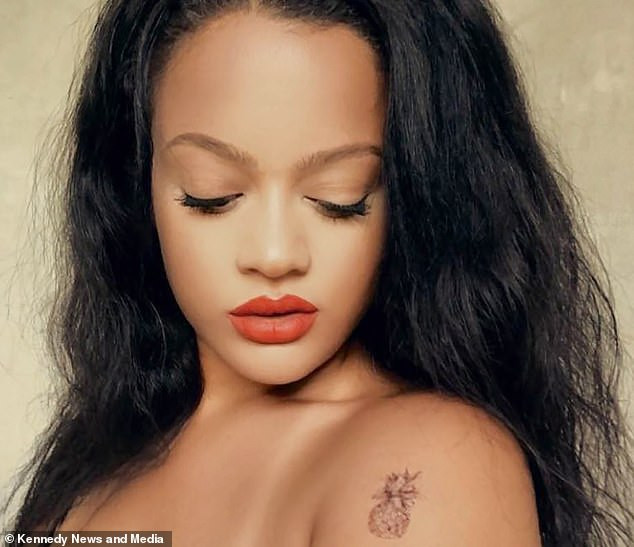 French lady who looks like Rihanna says she