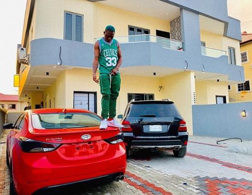 Singer, Zlatan buys himself two new?cars and a house? (Photo)