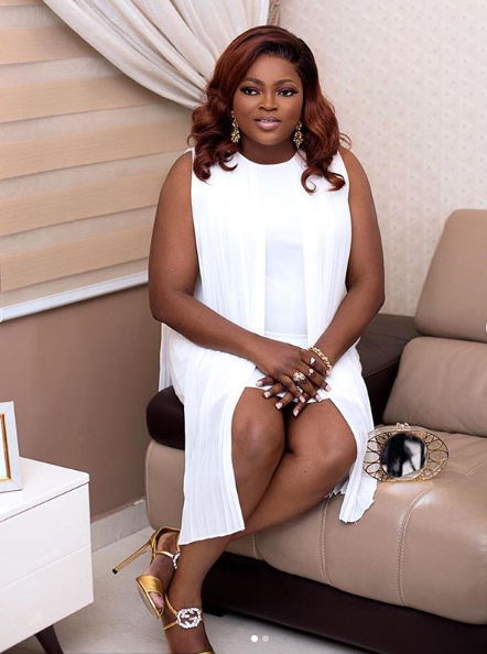 Lovely new photos of Funke Akindele-Bello and her hubby, JJC Skillz