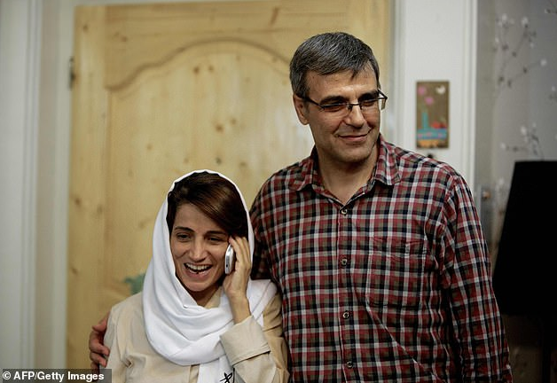 Iranian lawyer who campaigned against headscarves is sentenced to 33 years in jail and 148 lashes