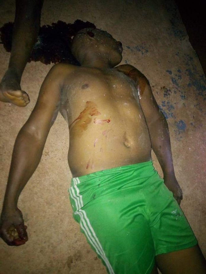 Gunmen attack police station in Edo, kill DPO, five others (Photos)