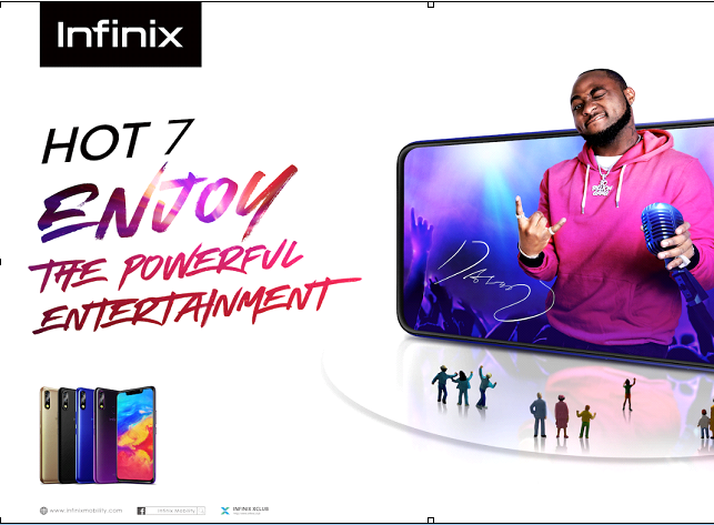 Infinix Mobility launches HOT 7 - The smartphone Made For Entertainment