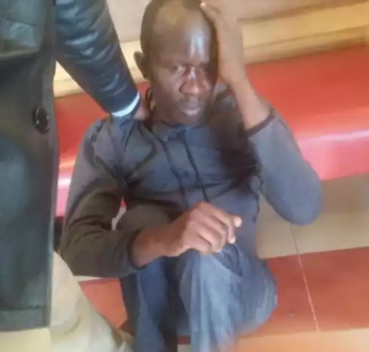 Photos: Man beaten by irate mob for defiling 6-year-old girl inside ladies? washroom in Nairobi