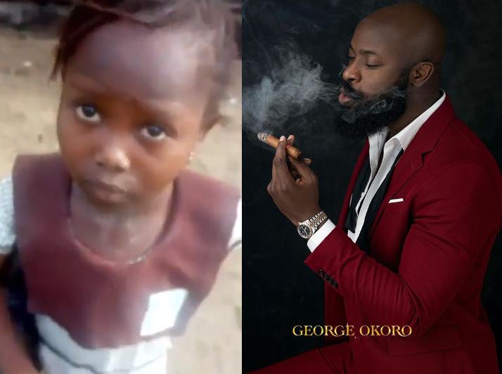 Abuja entrepreneur, Charles Okpaleke pledges to sponsor little girl who was chased from school for not paying school fees till her University level
