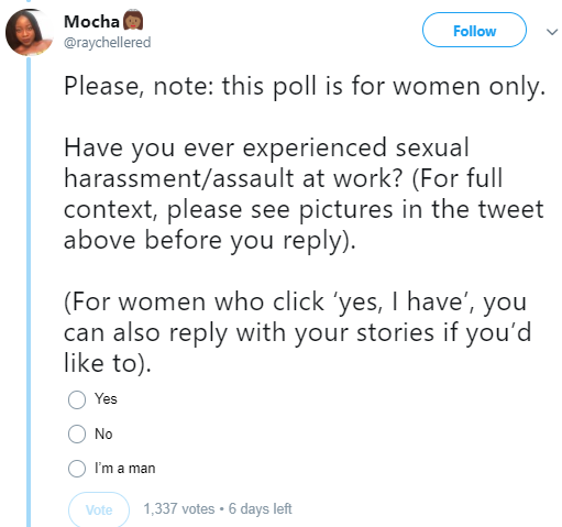 Nigerian women narrate the experiences of sexual harassment they