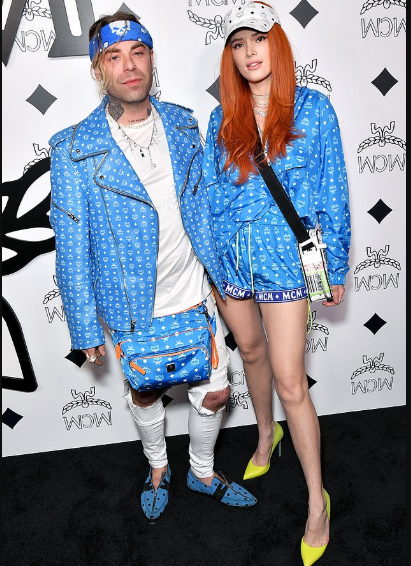Bella Thorne steps out with boyfriend Mod Sun after breaking up with her girlfriend Tana Mongeau (Photos)