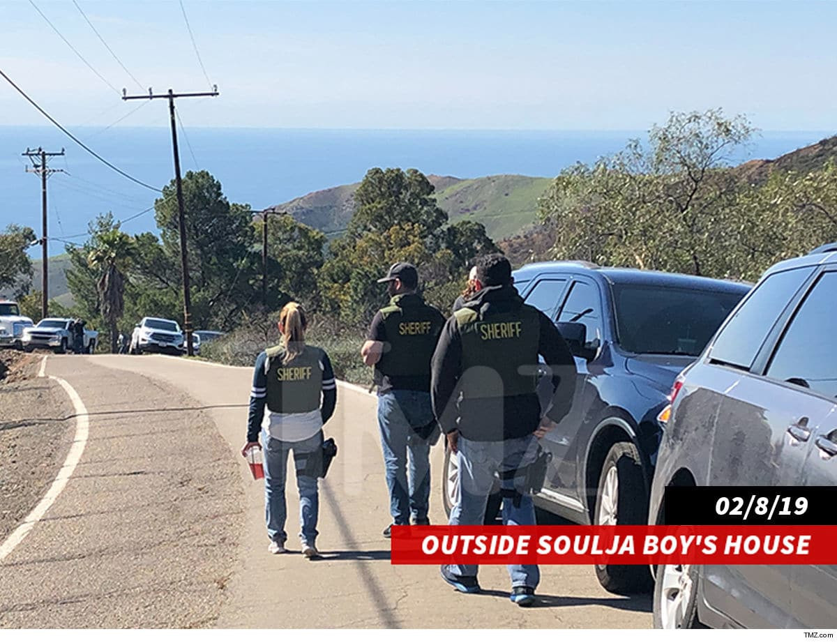 Soulja Boy arrested after cops found ammunition in his California home (Photos)