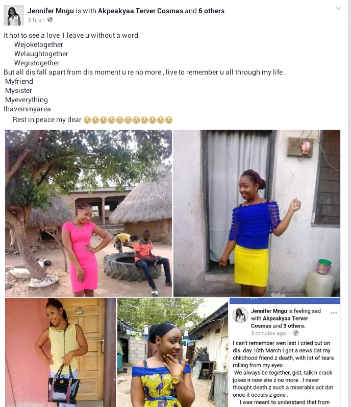 Photos: Young Nigerian bride-to-be reportedly dies in her sleep