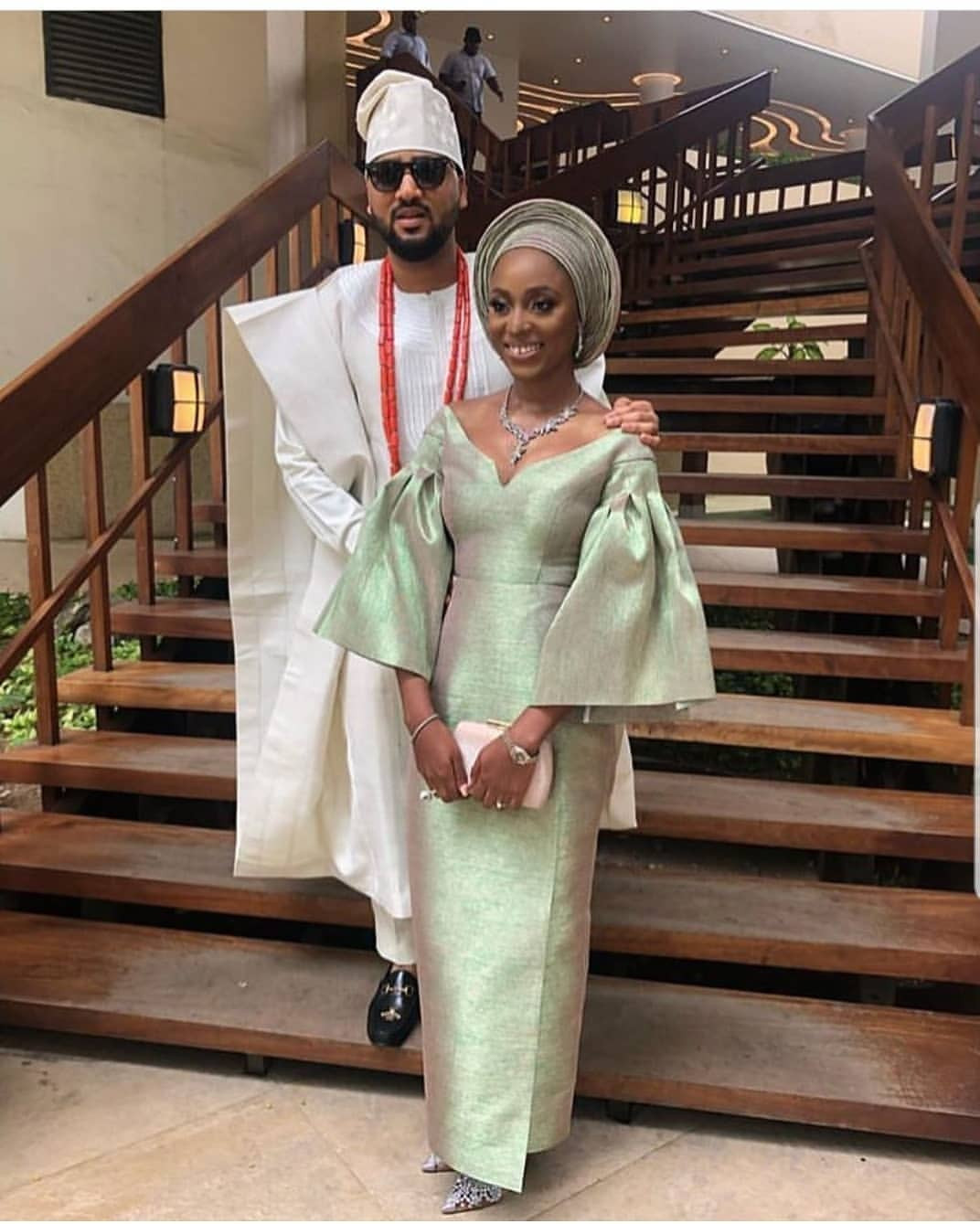 Photos from the traditional wedding of media personality, Illrymz
