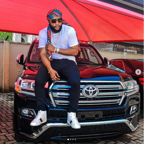 Kcee shows off new whip on Instagram (Photos)