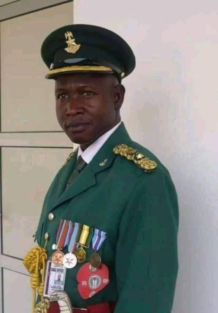 Update: Photo of army garrison commander killed by unknown gunmen on his way to Bauchi