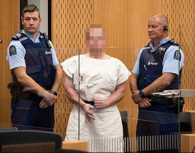 New Zealand mosque killer faces an